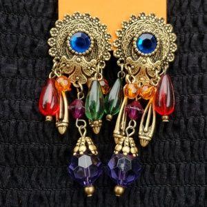Vintage VERY Boho Earrings